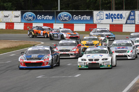 2014 V8 Superstars doorstart