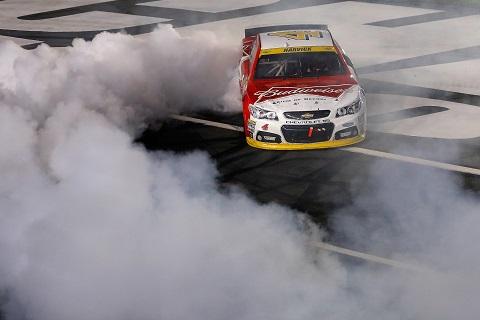 Charlotte NSCS Race Burnout