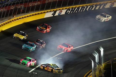Charlotte NSCS Race Spin