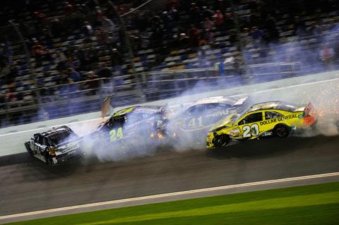 2014 Daytona Sprint Unlimted Crash