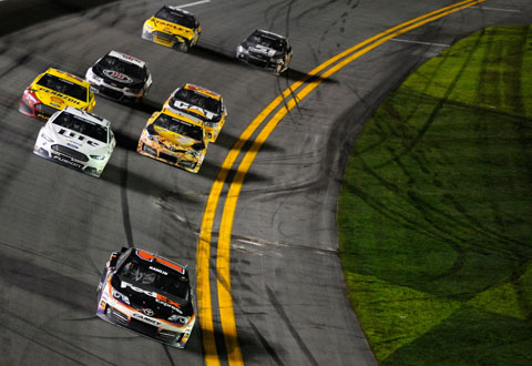 2014 Sprint Unlimted Race Hamlin