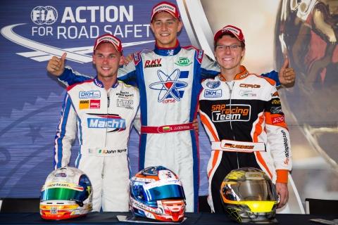 KZ2 podium