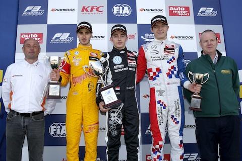 150412 FIA F3 Podium R3