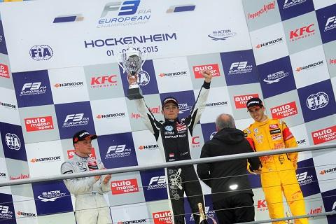 2015 Leclerc Podium