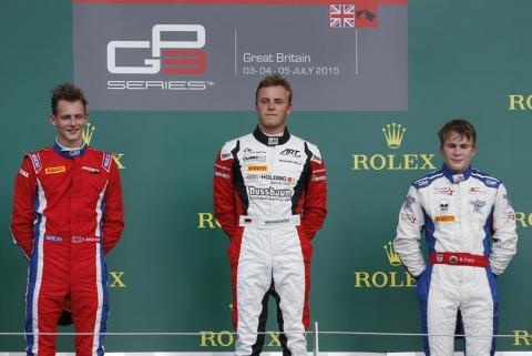 podium race1-drietal