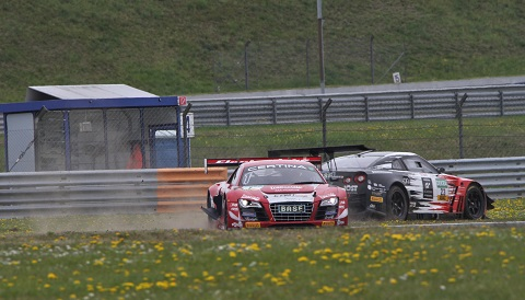 ADAC GT Masters Incident