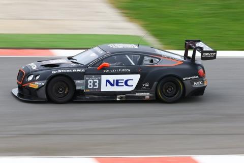 GT3.nl Max van Splunteren in actie met Bentley op het circuit van Portimao 150906