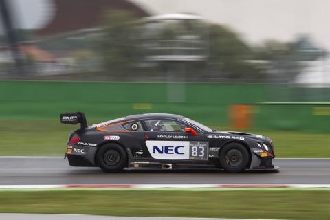 GT3.nl Max van Splunteren in actie met Bentley op Misano 151003