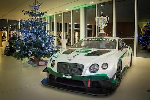 151216 Bentley Continental kerstboom