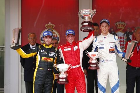 Jaap van Lagen wint Porsche Supercup in Monaco 1