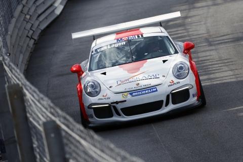 Jaap van Lagen wint Porsche Supercup in Monaco 2