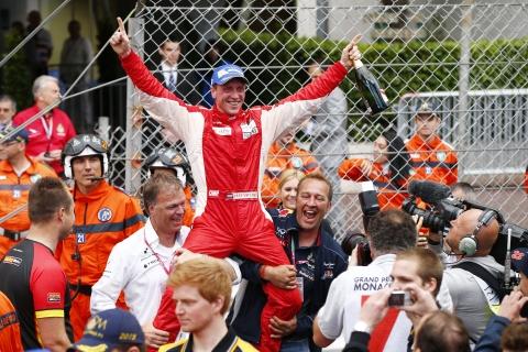 Jaap van Lagen wint Porsche Supercup in Monaco 4