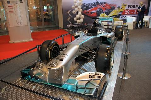 2015 EMS F1 Mercedes