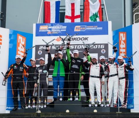 Overall podium Hankook 24H SILVERSTONE 2016 800pix