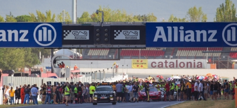 Start grid Hankook 24H BARCELONA 2016 800pix