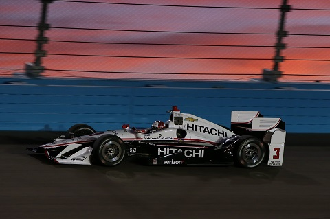 Castroneves Hitachi