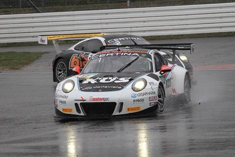 Winnende Porsche