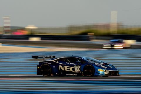 Lamborghini -actie paul Ricard