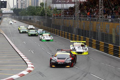 161119 FIA GT Macau Qualirace Startfase