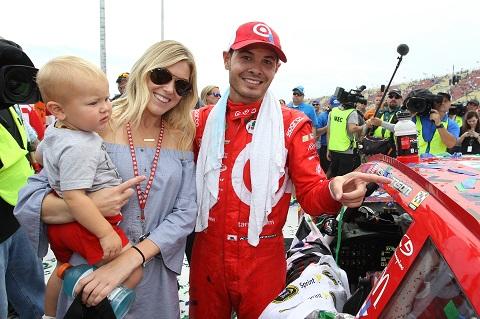 Larson vrouw en kind