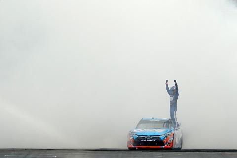 2016 Busch winnaar Xfinity Indy