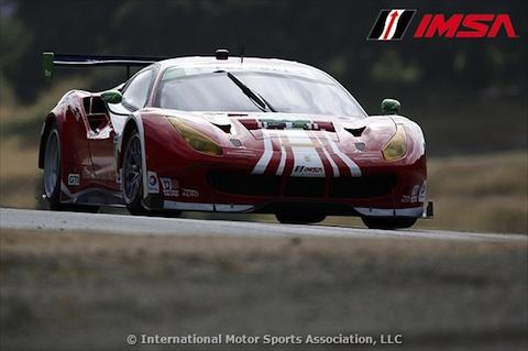 160501 IMSA kwalificatie Ferrari