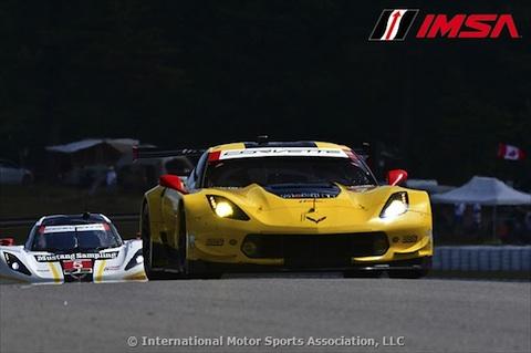 160710 IMSA quali Corvette