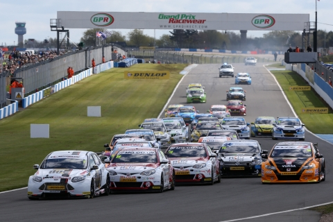 Donington race 1