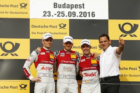 160924 DTM R1 podium