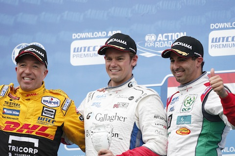 Tom Coronel podium