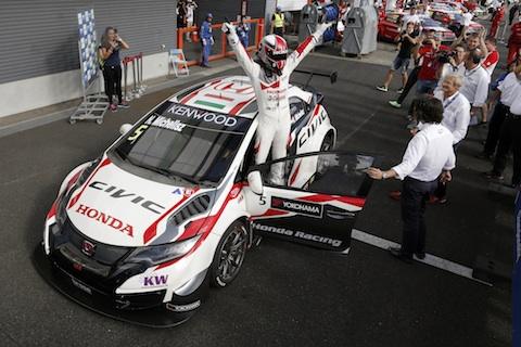160904 WTCC Michelisz R1 winnaar
