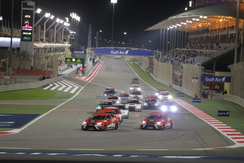 Bahrain R1 start-tcr