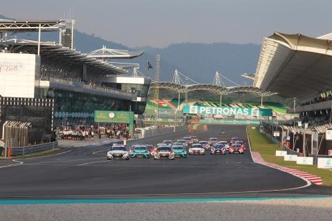Sepang Race 1 start