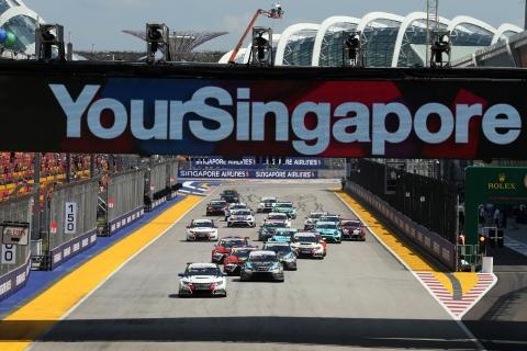 Singapore Race 2 start