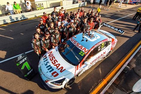 2016 Nissan overwinning