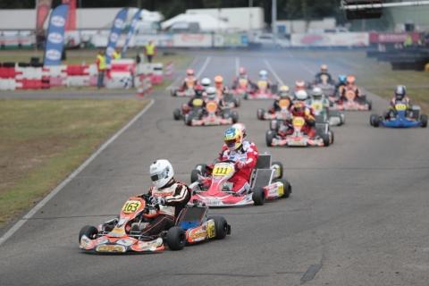 Komend Weekend Derde Ronde Nederlands Kampioenschap 2 Takt Karting Op Circuit Park Berghem Autosport Nl