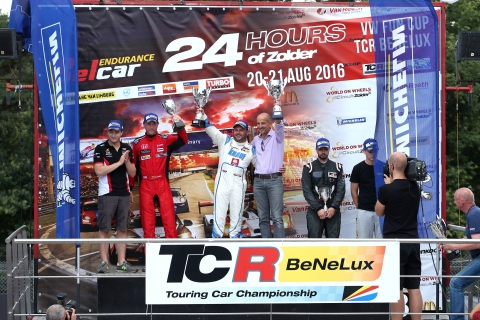 TCR Benelux - Podium SR4 - JJOY Fun Driver - Lemeret - Corthals - Opel Car of the Weekend - Mora - Junior of The Weekend