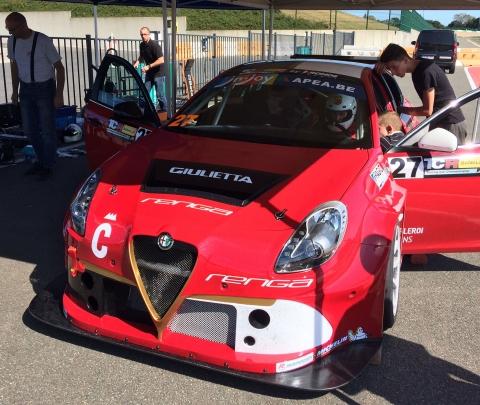 TCR Benelux - Alfa Romeo 27
