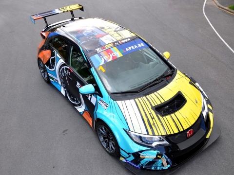 Civic TCR Art Car Top