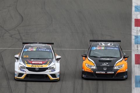 TCR Benelux - Opel versus Honda
