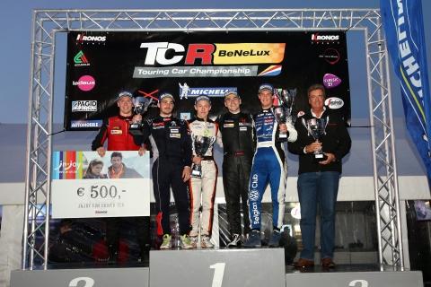 TCR Benelux - Round 6 - Podium SR4