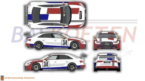 BAS KOETEN RACING Audi RS 3 LMS