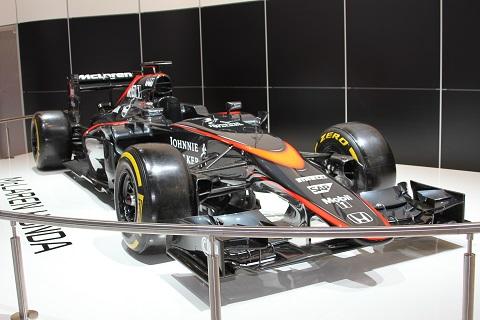 2016 F1 McLaren