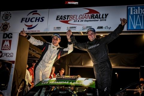BRC EBR Cherain podium