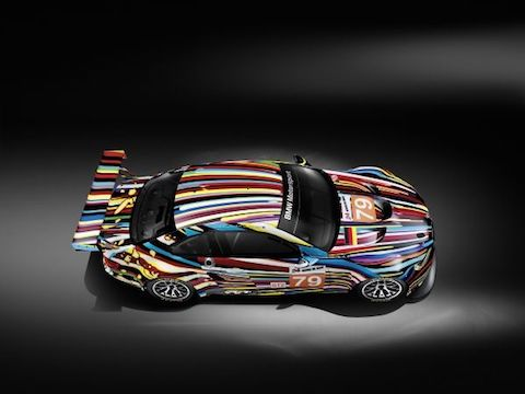 161130 Art Car Historic M3 GT2 Koons