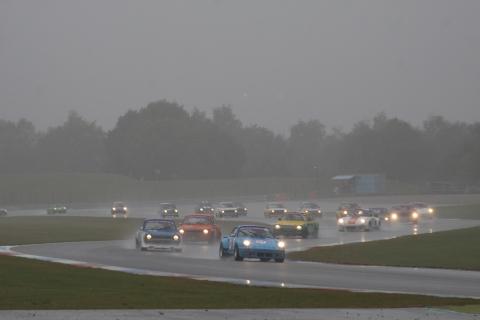 Start 2e race Veel regen
