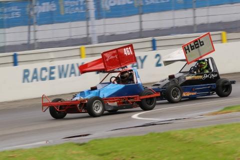 Van Haarlem in strijd met Visser Stockcar F2 junioren