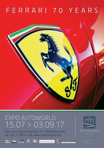 Ferrari affiche A4