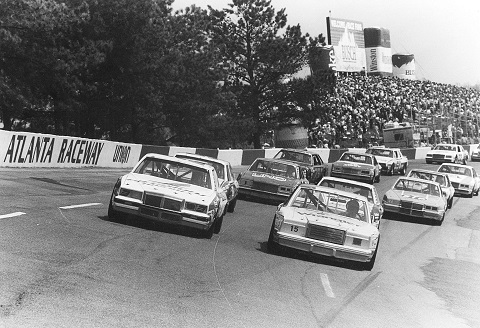 1982 atlanta april dale earnhardt pole