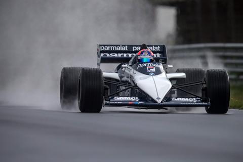 JanLammers in F1 BrabhamBMW